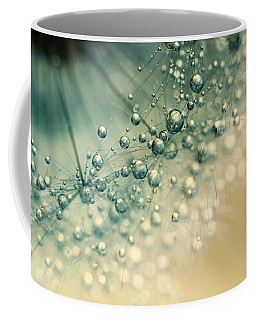 Sea Green Sparkles Coffee Mug
