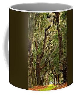 Sea Island Oaks Portrait Coffee Mug