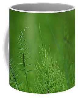 Coffee Mug featuring the photograph Sea Of Green by Bianca Nadeau