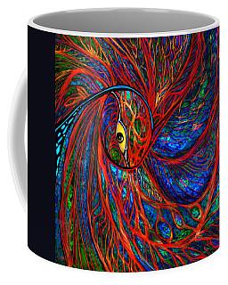 Sea Of Peacock Coffee Mug