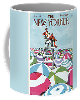 Sea Of Umbrellas Coffee Mug