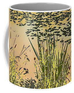 Coffee Mug featuring the photograph Sea Plants Abstract by Leif Sohlman