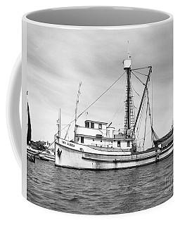 Purse Seiner Sea Queen Monterey Harbor California Fishing Boat Purse Seiner Coffee Mug