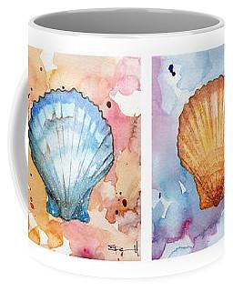 Sea Shells In Contrast Coffee Mug