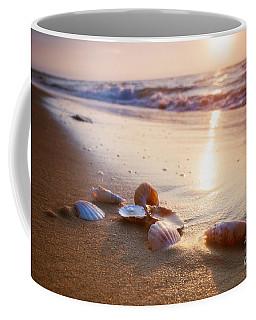 Sea Shells On Sand Coffee Mug