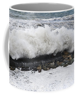 Sea Storm  Coffee Mug by Antonio Scarpi