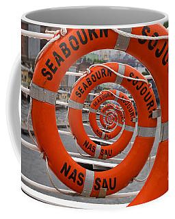 Seabourn Sojourn Spiral. Coffee Mug