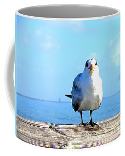 Seafarer Coffee Mug by Kay Gilley