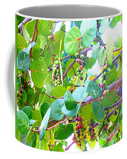 Seagrapes Coffee Mug by Kay Gilley