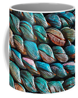 Seagrass Blue Coffee Mug by Linda Bianic