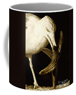 Seagull Dancing With A Star Coffee Mug by Carol F Austin