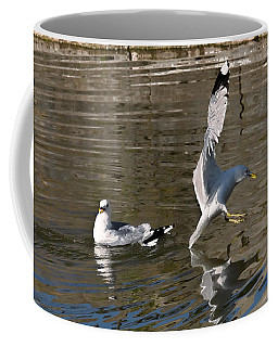 Seagull Coffee Mug by Leif Sohlman