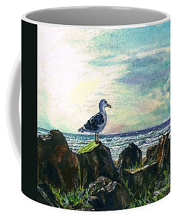 Seagull Lookout Coffee Mug
