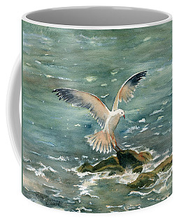 Seagull Coffee Mug by Melly Terpening