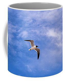 Coffee Mug featuring the photograph Seagull by Sennie Pierson