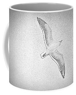 Seagull Sketch Coffee Mug