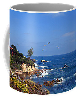 Seagulls At Laguna Beach Coffee Mug