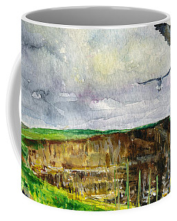 Seagulls At The Cliffs Of Moher Coffee Mug