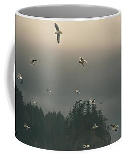 Seagulls In A Storm Coffee Mug
