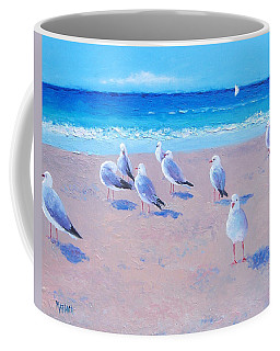 Seagulls Coffee Mug by Jan Matson