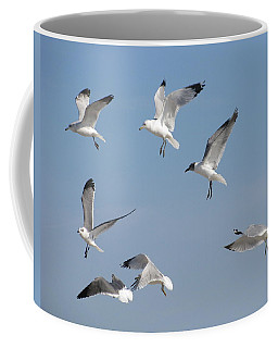 Seagulls See A Cracker Coffee Mug