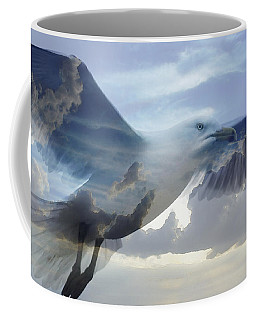 Searching The Sea - Seagull Art By Sharon Cummings Coffee Mug