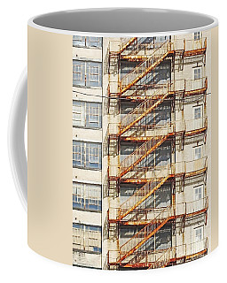 Sears Crosstown Fire Escape Memphis Tn Coffee Mug