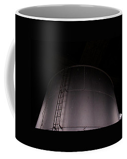 Coffee Mug featuring the photograph Sears Water Tower by Cleaster Cotton
