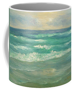 Seascape  Glowing Sunset Coffee Mug