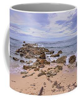Seascape With Rocks Coffee Mug