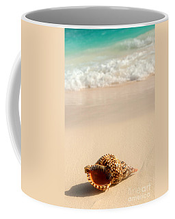 Seashell And Ocean Wave Coffee Mug