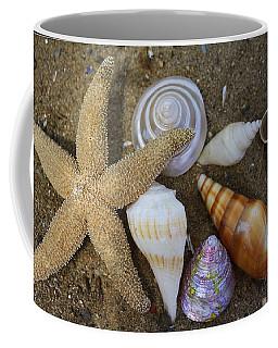 Seashells And Star Fish Coffee Mug