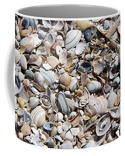 Seashells On The Beach Coffee Mug