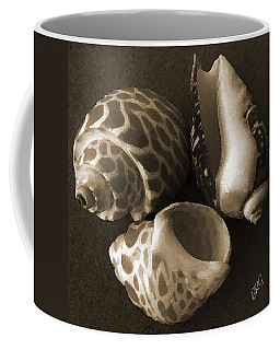 Seashells Spectacular No 1 Coffee Mug by Ben and Raisa Gertsberg