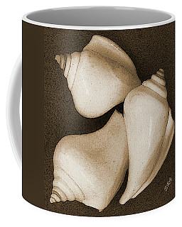 Seashells Spectacular No 4 Coffee Mug by Ben and Raisa Gertsberg