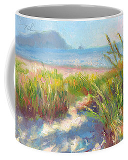 Coffee Mug featuring the painting Seaside Afternoon by Talya Johnson