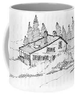 Seaside Cottage Monhegan Island 1993 Coffee Mug