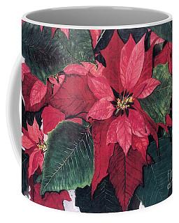 Coffee Mug featuring the painting Seasonal Scarlet 2 by Barbara Jewell