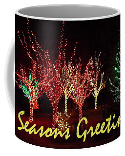 Coffee Mug featuring the painting Seasons Greetings by Darren Robinson