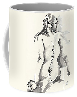 Seated Nude Coffee Mug by Melinda Dare Benfield