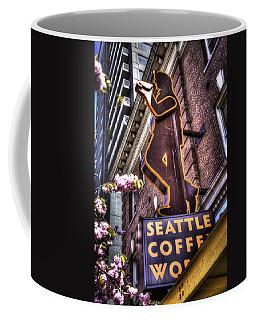 Seattle Coffee Works Coffee Mug by Spencer McDonald