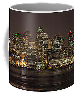 Seattle Lake Union Winter Reflection Coffee Mug by Mike Reid