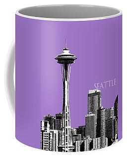 Seattle Skyline Space Needle - Violet Coffee Mug