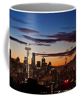 Seattle Sunrise Coffee Mug