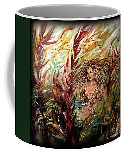 Seaweed Mermaid Pillow Coffee Mug