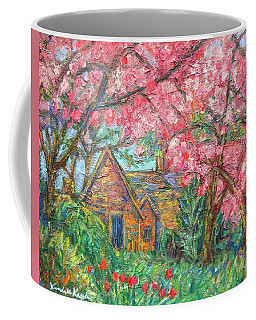 Secluded Home Coffee Mug by Kendall Kessler