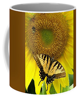Secret Lives Of Sunflowers Coffee Mug