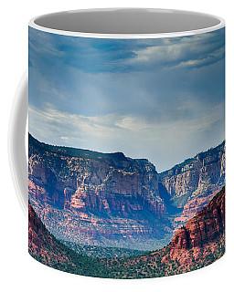 Sedona Arizona Panorama Coffee Mug by Terry Garvin