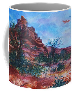 Sedona Red Rocks - Impression Of Bell Rock Coffee Mug