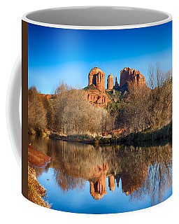 Sedona Winter Reflections Coffee Mug